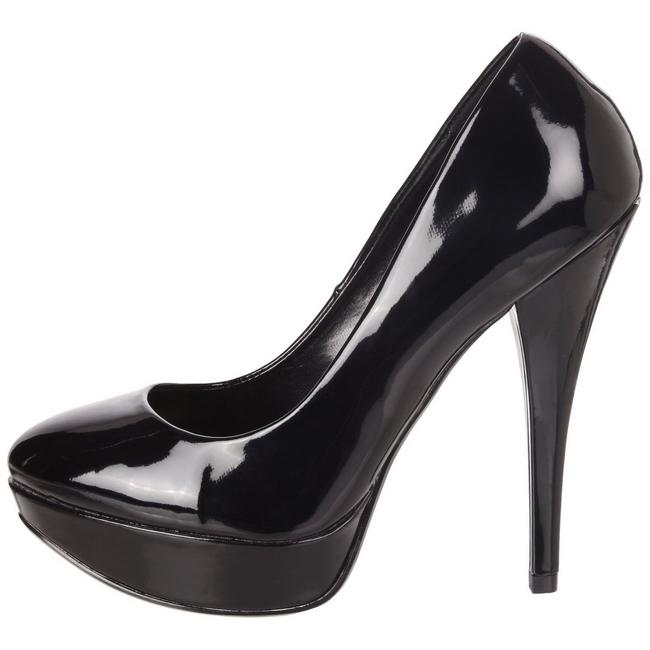 HARLOW-01 chaussures à plateforme noir taille 39 - 40
