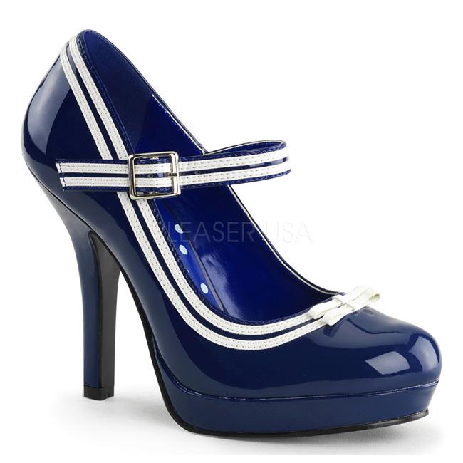 SECRET-15 bleu chaussures à plateforme taille 41 - 42